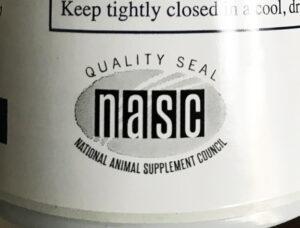 NASC Seal on bottle