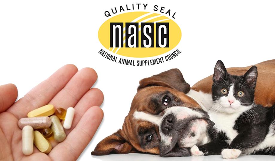 Pet Legit NASC Seal - pet supplements