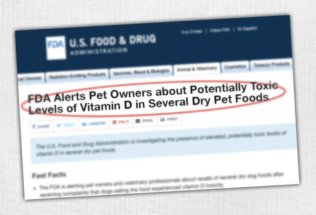 FDA Recall  Vitamin D testing